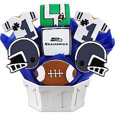 NFL Seattle Seahawks Cookie Bouquet