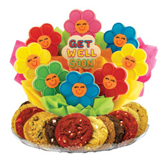 Share A Smile Daisies Gluten Free Cookie BouTray™