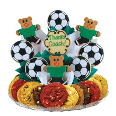 Soccer Thank You Cookie BouTray