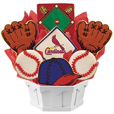 MLB1-STL - MLB Bouquet - St. Louis Caridnals