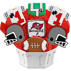NFL1-TB - Football Bouquet - Tampa Bay