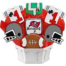 NFL Tampa Bay Buccaneers Cookie Bouquet
