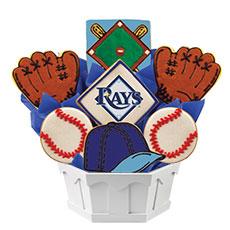 MLB1-TAM - MLB Bouquet - Tampa Bay Rays