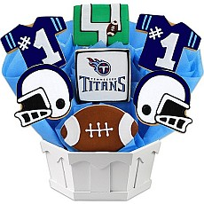 NFL Tennessee Titans Cookie Bouquet