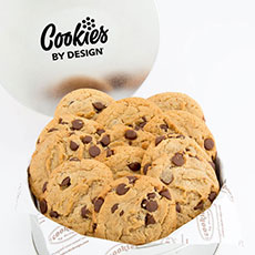 Gourmet Chocolate Chip Cookie Tin (12)