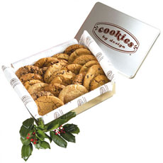 TIN24 - Two Dozen Gourmet Cookies