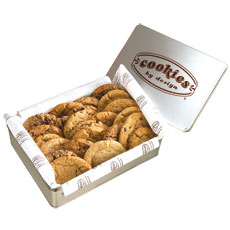 TIN24-CC - Two Dozen Chocolate Chip Gourmet Cookies