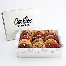 Gourmet Cookie Tins   Two Dozen Assorted Cookies