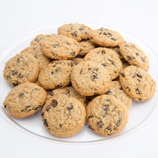 Gourmet Oatmeal Raisin Cookie Tray (24)