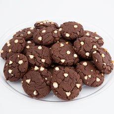 Gourmet Decadent Chocolate Cookie Tray (24)