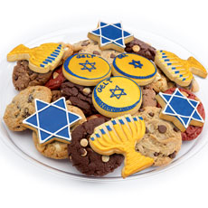 Hanukkah Favors Cookie Tray