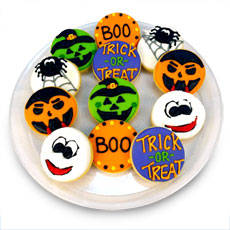 Halloween Cookie Tray   Cookie Favors