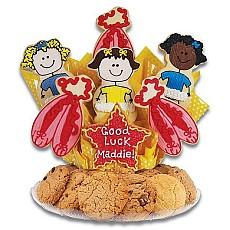 Tutu Much Fun Cookie BouTray