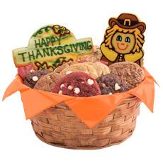 Give Thanks Cookie Basket   Thanksgiving Basket