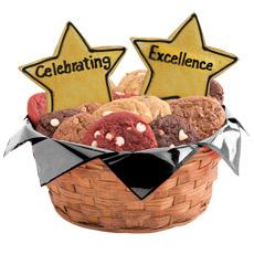 Celebrating Excellence Cookie Basket