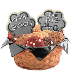 40th or 50th Birthday Cookie