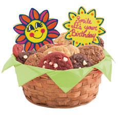 Birthday Smiles Cookie Basket