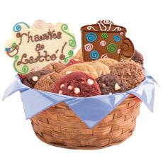 Express O'Latte Thanks Cookie Basket