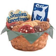 Winter Gift Basket   Holiday Cookie Basket