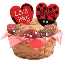 Love Gift Basket   Heart Cookie