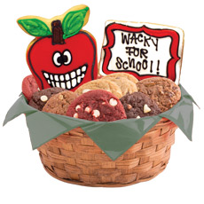 Wacky Apples Cookie Basket