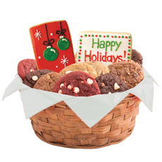 W442 - Happy Holidays Basket