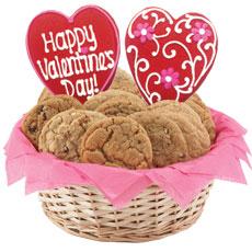 W443 - Lovely Valentine Basket