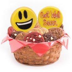 Thank You Emoji Gift Basket   Cookie Emojis