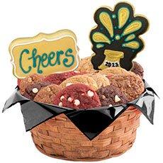 Happy New Year Cookies   Gift Basket