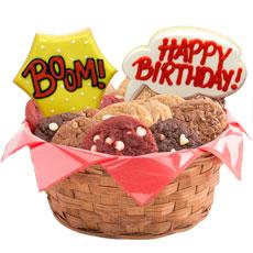 Pop Art Birthday Basket