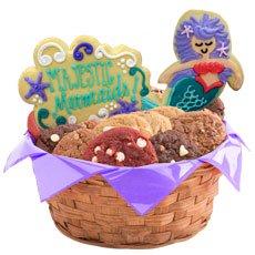 Mermaid Gift Basket   Mermaid Cookies