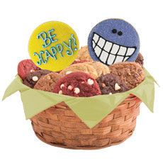 W342 - Wacky Faces Basket