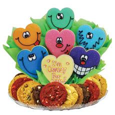 Heart Cookies   Love Gift Basket