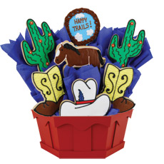 Cookie Bouquet Western