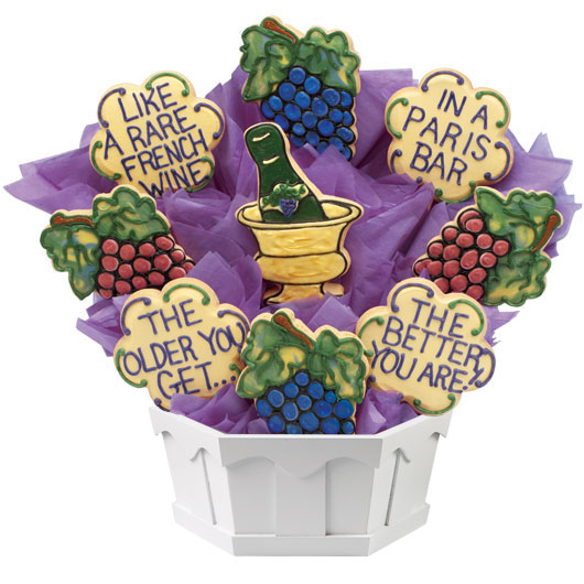 Aged to Perfection Cookie Bouquet