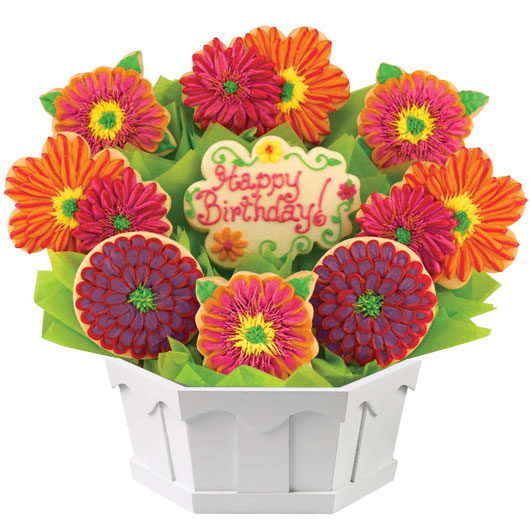 Birthday Splendor Cookie Bouquet