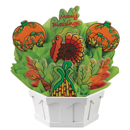 Fall Blessings Cookie Bouquet