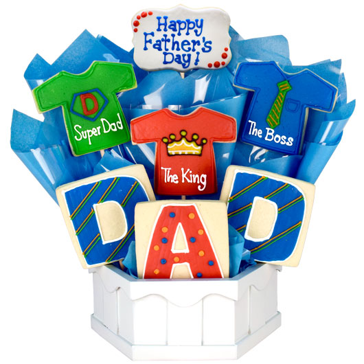 Shirts for DAD Cookie Bouquet