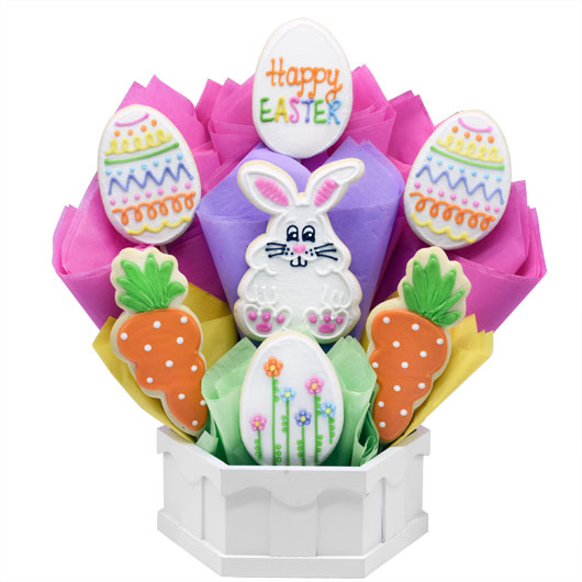 Happy Easter Cookie Bouquet