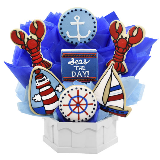 Seas the Day Cookie Bouquet