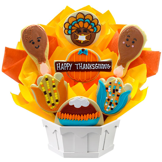 Thanksgiving Feast Cookie Bouquet