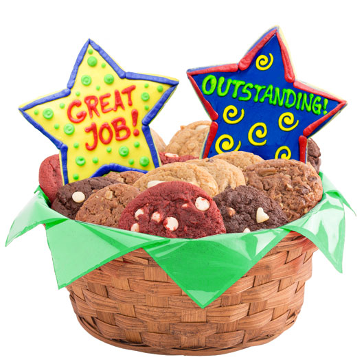 Appreciation Stars Cookie Basket