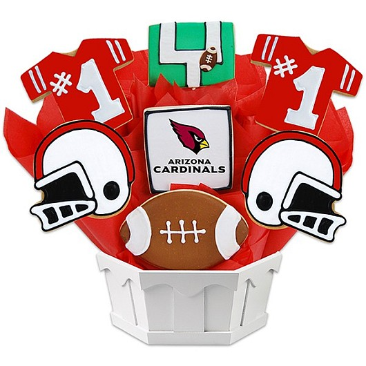 Football Bouquet - Arizona Cookie Bouquet