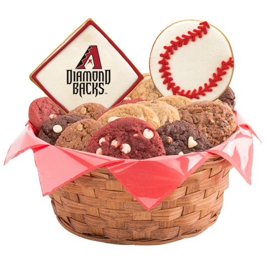 MLB Cookie Basket - Arizona Diamondbacks