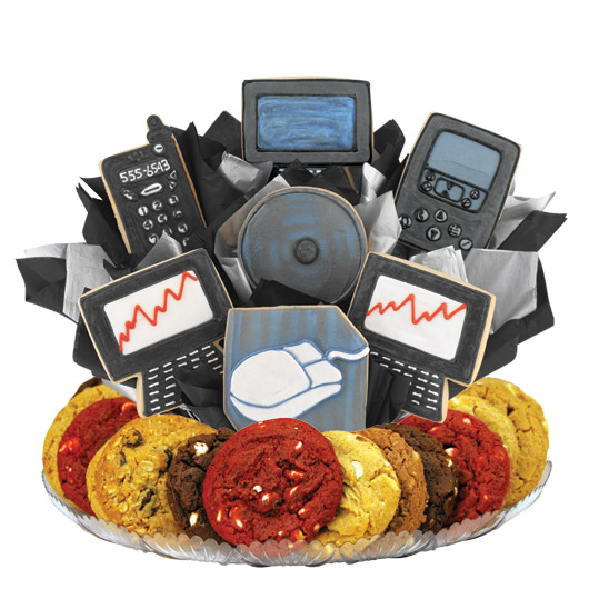 High Tech Gourmet Gift Basket