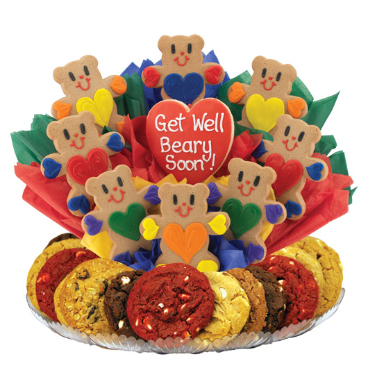 Get Well Beary Soon Gourmet Gift Basket