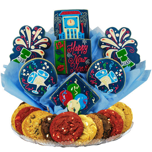 New Years Bash Gourmet Gift Basket