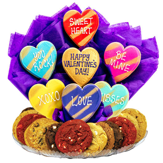 Hearts of Gold Gourmet Gift Basket
