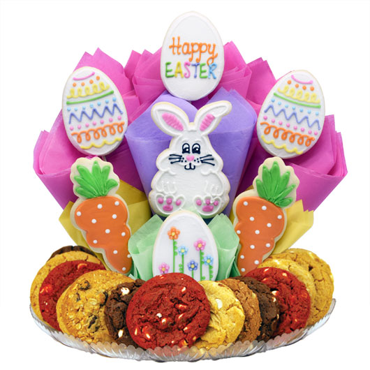 Happy Easter Gourmet Gift Basket