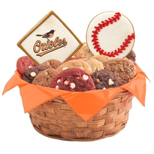 MLB Cookie Basket - Baltimore Orioles
